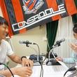 金山隼樹選手 2015年5月8日放送分 収録風景2