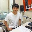 金山隼樹選手 2015年5月8日放送分 収録風景4