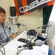 福森晃斗選手 2015年6月12日放送分 収録風景4