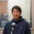 永坂勇人選手 11月13日放送分 収録風景