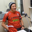 河合竜二選手 12月11日放送分 収録風景2