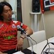 増川隆洋選手 4月22日放送分 収録風景2