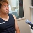 深井一希選手 7月22日放送分 収録風景2