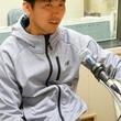 菊地直哉選手 4月28日放送分 収録風景1