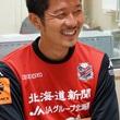 横山知伸選手 9月8日放送分 収録風景2