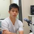 進藤亮佑選手 10月13日放送分 収録風景2