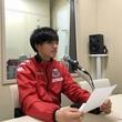 藤村怜選手 4月13日放送分 収録風景2