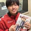 藤村怜選手 4月13日放送分 収録風景3