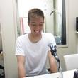 阿波加俊太選手 10月12日放送分 収録風景③