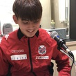 濱大耀選手 11月23日放送分 収録風景①