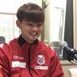 濱大耀選手 11月23日放送分 収録風景②